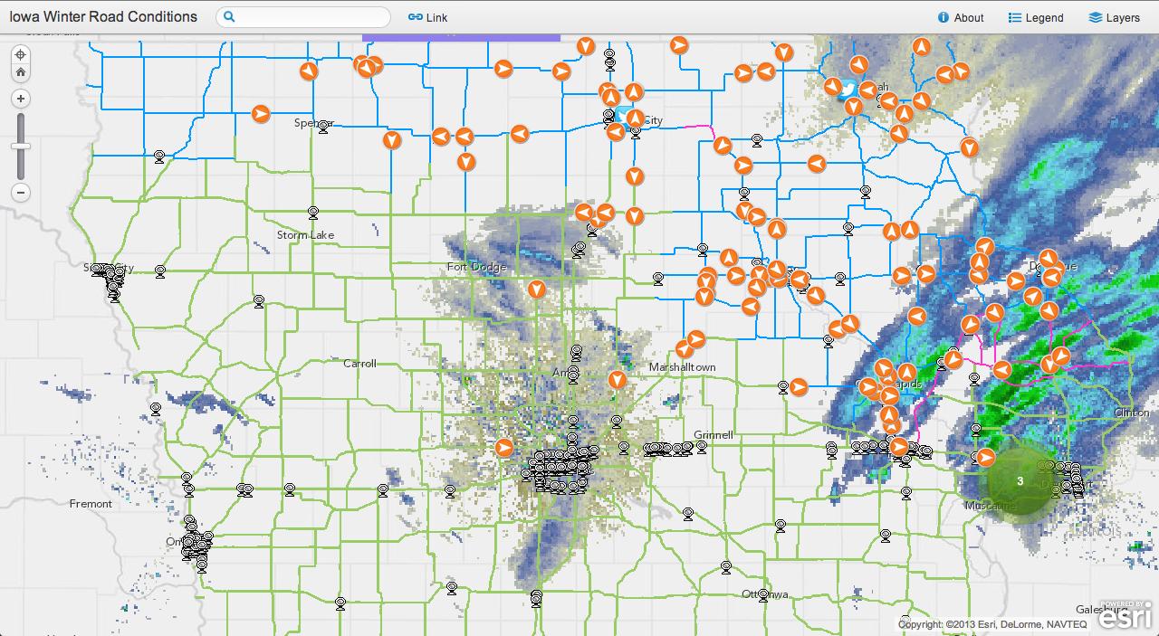 Iowa Map App
